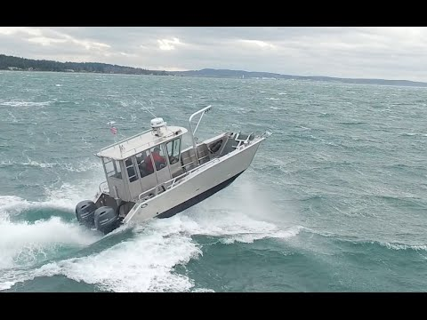 Munson Boats Rough Water Performance Youtube