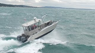 Munson Boats- Rough Water Performance