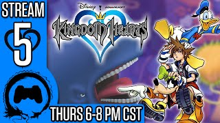 KINGDOM HEARTS Part 5 - Stream Four Star - TFS Gaming