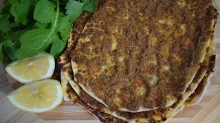 How To Make Lahmacun (Turkish Pizza) At Home