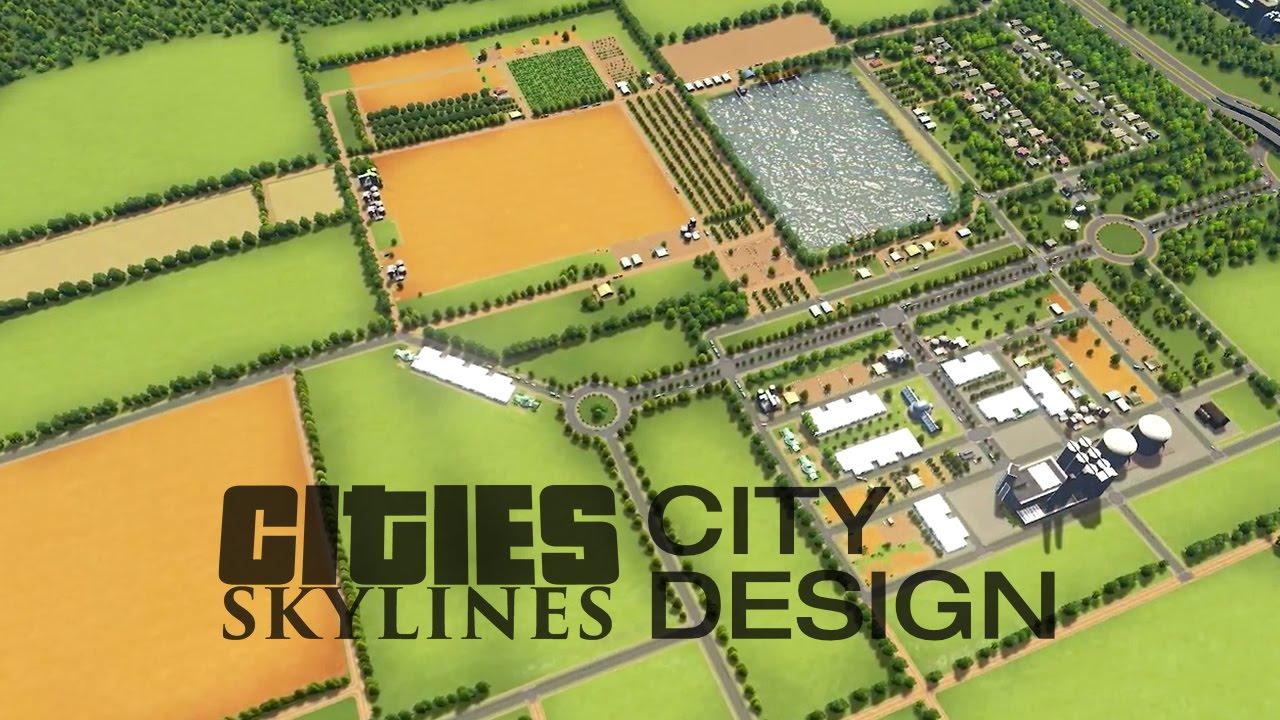 Farm Layouts Cities Skylines City Design Youtube