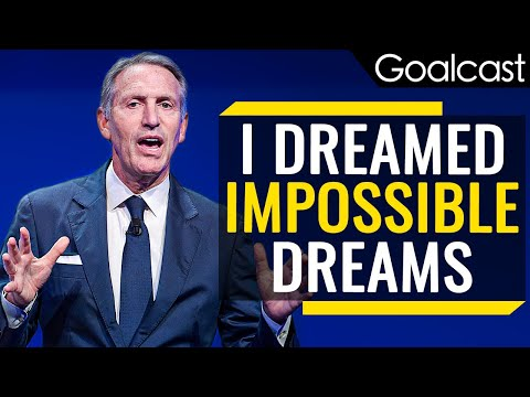 Dream Big And Ignore The Naysayers – Howard Shultz (Motivational Video)