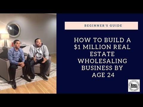 How to Build a $1 Million Real Estate Wholesaling Business by Age 24