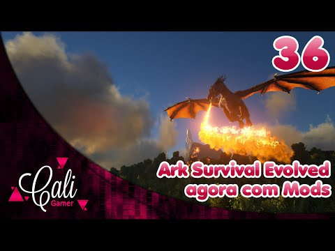 Ark Survival Evolved - Agora com Mods Gameplay 1080P 60FPS PT- BR #36