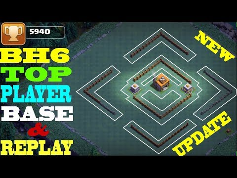 Best Builder Hall 6 Base Design to PUSH 5500 CUPS | COC BH6 Strategy | Clash of Clan Top Player Base