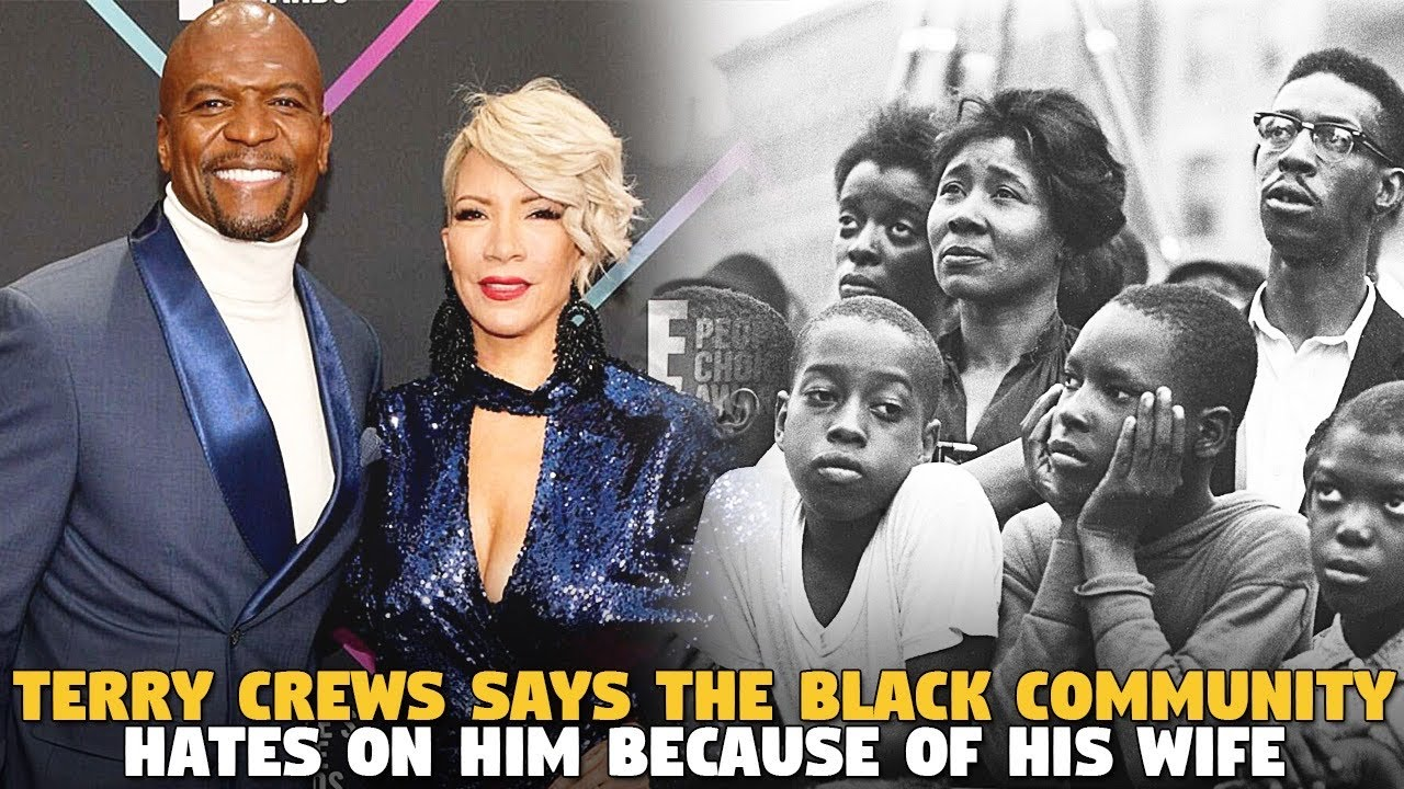 Terry Crews Said The Black Community Hates on Him Because His Wife is MIXED???