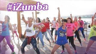 Зажигательный zumba® танец на пристани - флешмоб от самых энергичных