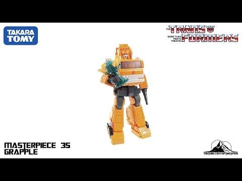 Optibotimus Reviews: Takara Tomy Transformers MP-35 Masterpiece GRAPPLE