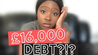 HOW I RACKED UP 16,000 DEBT: My Debt Free Journey Pt. 1 | My Debt Story | Dealing With Debt