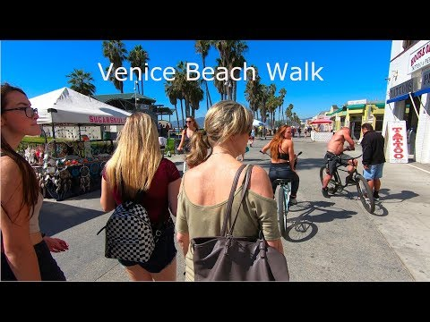 Venice Beach California Walk One