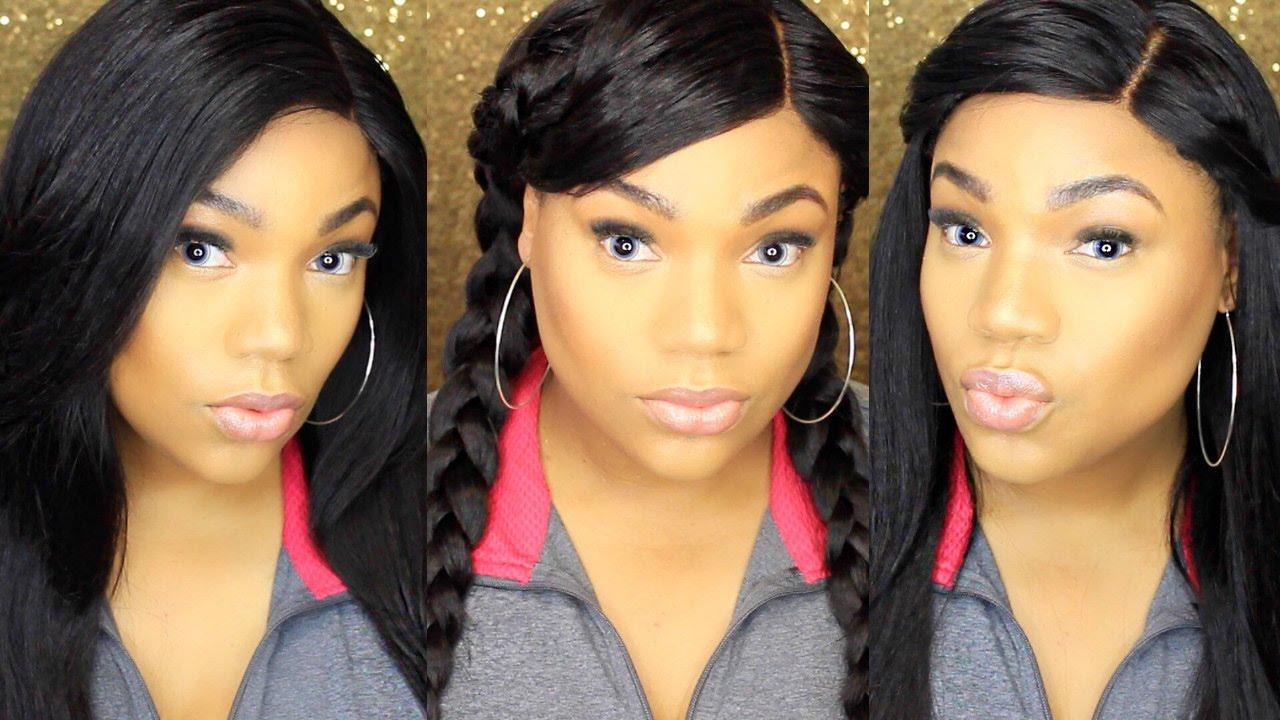 Brazilian Hair Style: How I Style My FAVORITE Brazilian Straight Wig
