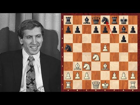 Chess Opening Tricks and Traps #11: Bobby Fischer's Sicilian Defence Trap (Chessworld.net)