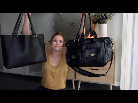 Whats In My Nappy Bag | I HAVE 2 NAPPY BAGS