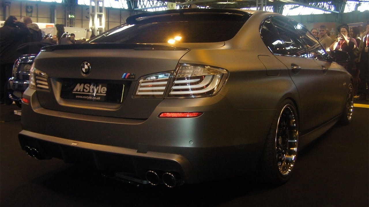 matte bmw m5 f10 replica by m style youtube. Black Bedroom Furniture Sets. Home Design Ideas
