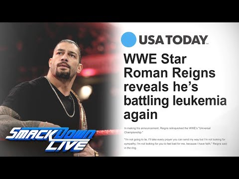 Roman Reigns reveals he's battling leukemia: SmackDown LIVE, Oct. 23, 2018