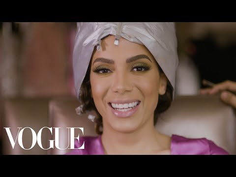 Brazilian Pop Star Anitta Gets Ready For The Latin Grammys | Vogue