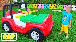 Los niños transforman la magia de Cars de Vlad y Nikita