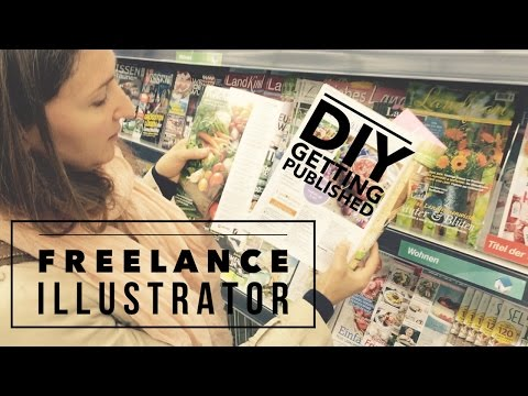 Artists Advice: How to find work as a freelance Illustrator