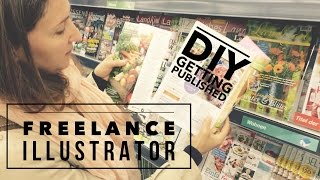 Freelance Illustration Artists Advice: How to find work as an Illustrator