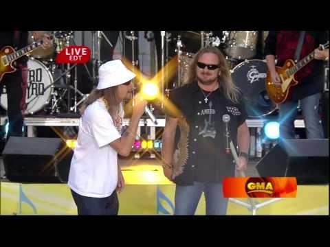 HD Lynyrd Skynyrd Feat Kid Rock Sweet Home Alabama