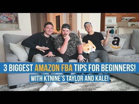 3 BIGGEST Amazon FBA Tips For Beginners w/ KTNINE!