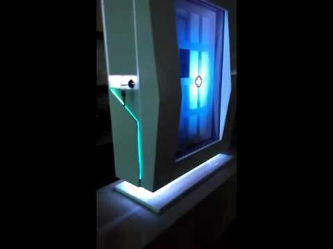 transparent lcd display vedio