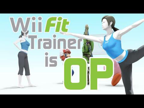 Wii Fit Trainer is OP - Smash Bros. Wii U Montage