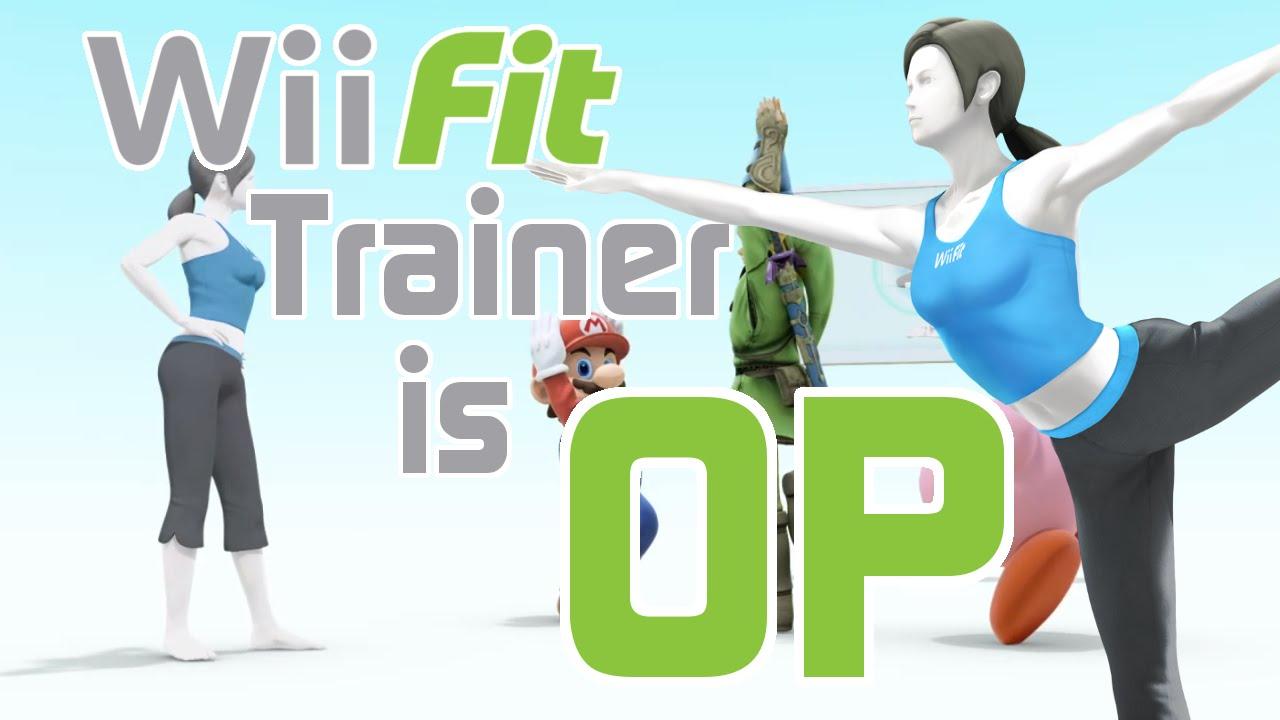 Wii Fit Trainer Is OP - Smash Bros. Wii U Montage - YouTube