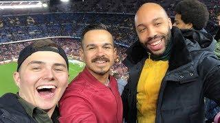 MEIN ERSTES BARCA SPIEL LIVE mit ERNÉ UND PHINEAS | Barcelona VLOG (mit Messi Freistoßtor🐐)