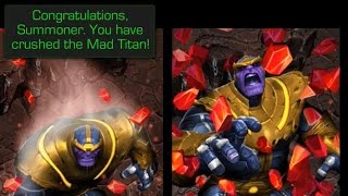 Marvel: Contest of Champions - Thanos Act 3 Ending [New Update]