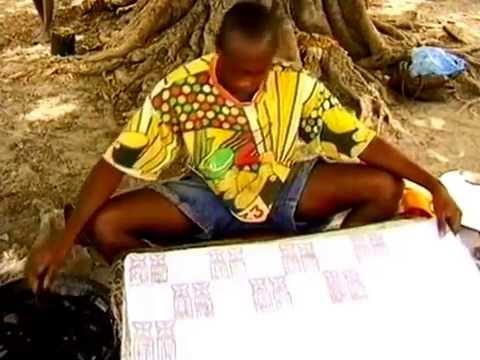 """""""A Dyeing Art""""- Indigo & Cola Nut & Textiles - Circa 1996"""