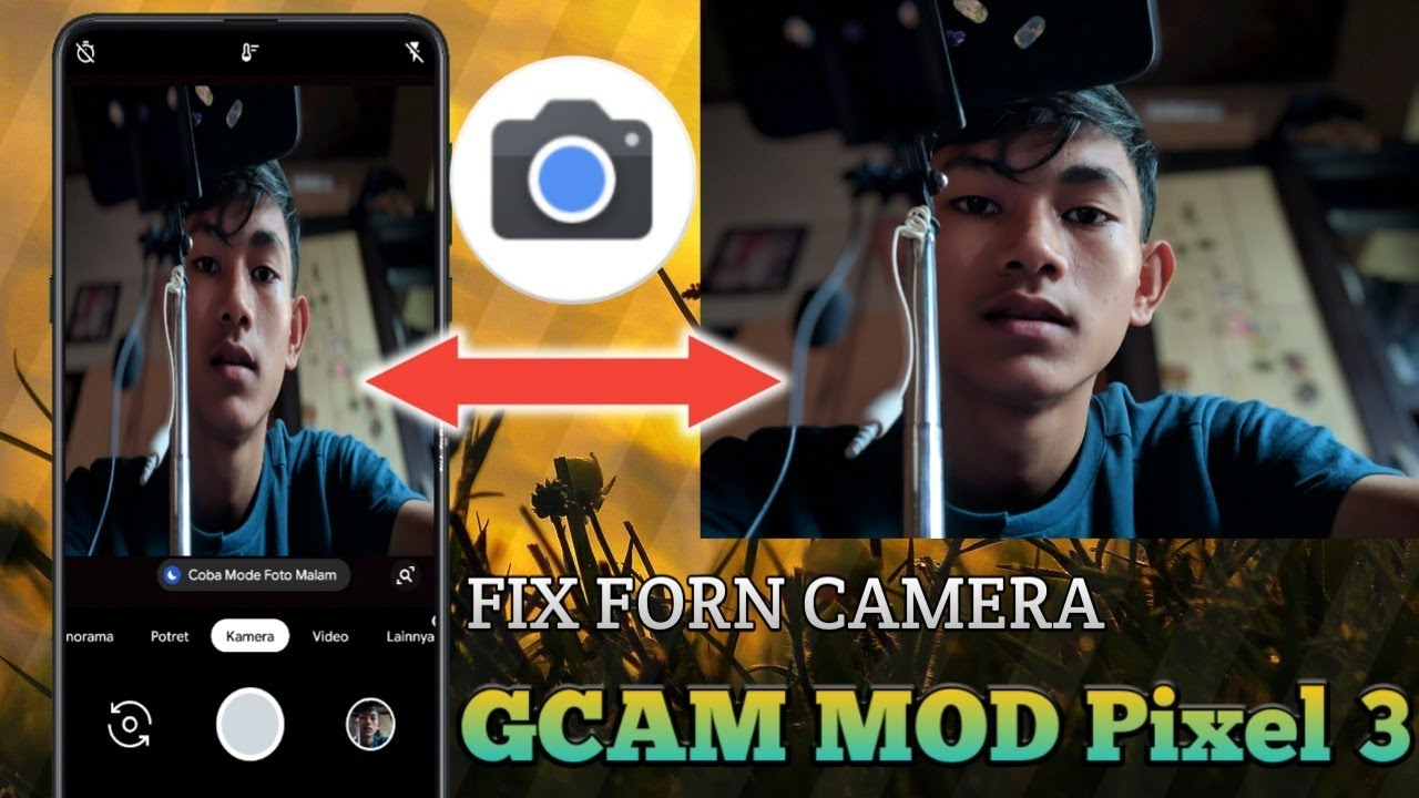 Fix GCAM MOD Pixel 3 Front Camera