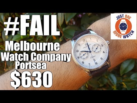 (Badly) Made In Australia! Melbourne Watch Company Portsea Calendar Automatic