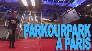 UN PARKOUR PARK À PARIS - Maxence De Schrooder