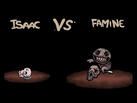 "The Binding of Isaac: Rebirth ""Famine"" boss"