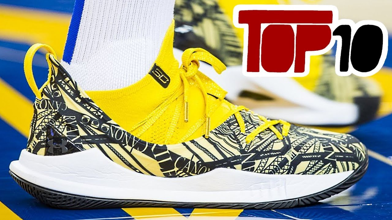 97beb79b109 Top 10 NBA Opening Week Shoes Of The 2018-19 Season - YouTube