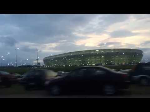 Akwa Ibom International Stadium - Drive through