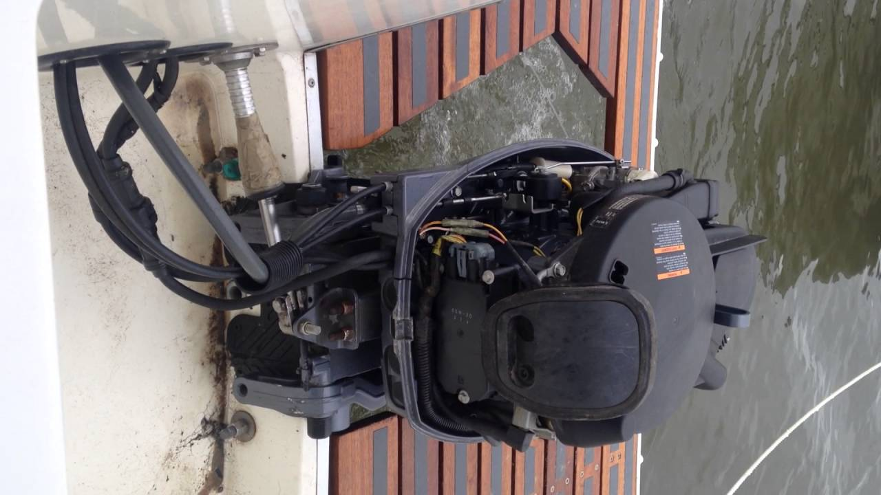 25HP Yamaha outboard engine not running right, please help ( problem fixed )