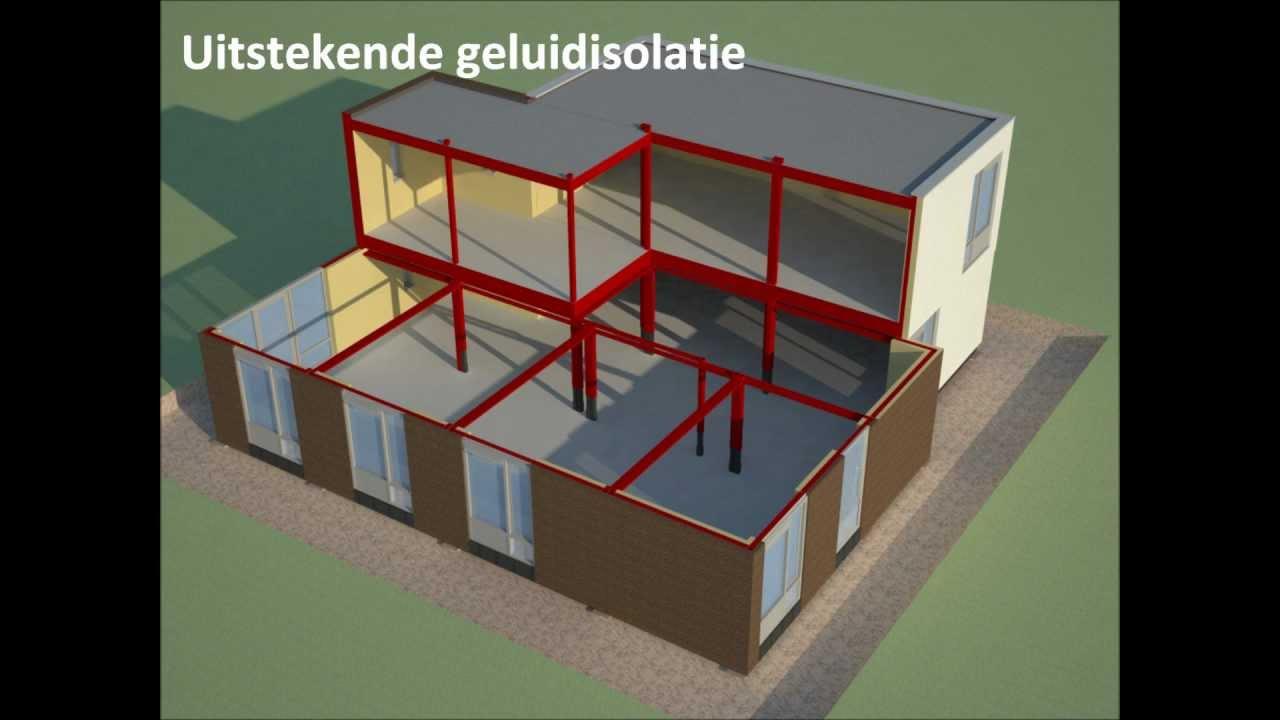 Prefab nieuwbouw woning bouwen in 1 dag ut zunneke te for Huis bouwen prefab