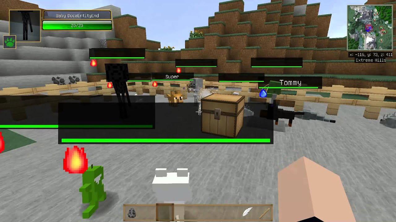 當個創世神※Minecraft※貓狗Plus 模組介紹 - YouTube