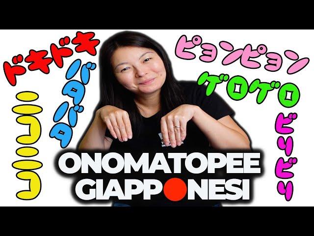 ONOMATOPEE GIAPPONESI - UN ASPETTO DIVERTENTE DELLA LINGUA GIAPPONESE