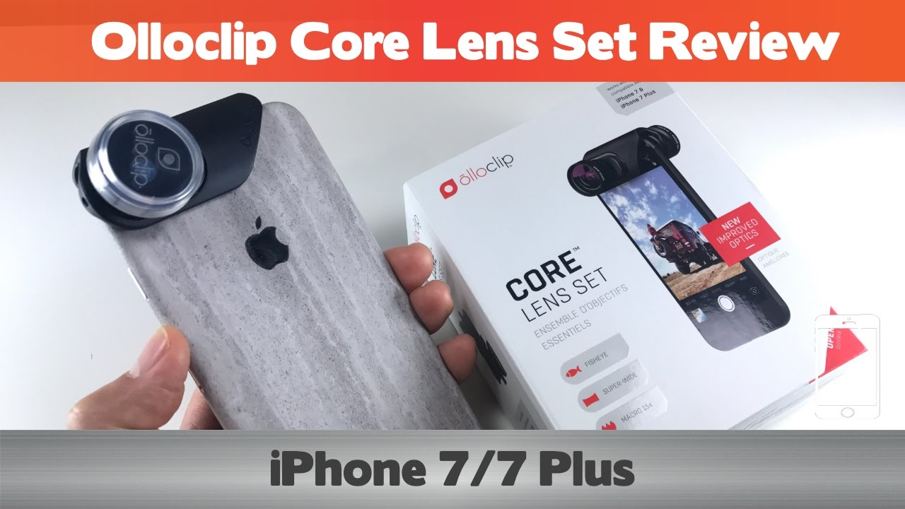 buy popular d5a9b 6634b New and Improved? Really? Olloclip Core Lens Set Review - iPhone 7 and 7  Plus