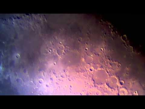 003 Moonscapes.  Sunrise over Mare Nubium