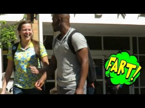 Wet Fart Prank in the Library with The Sharter | University of Texas