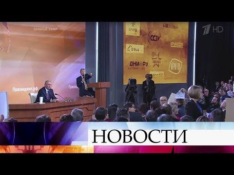 Президент Владимир Путин рассказал о деталях своей поездки на российскую авиабазу «Хмеймим».