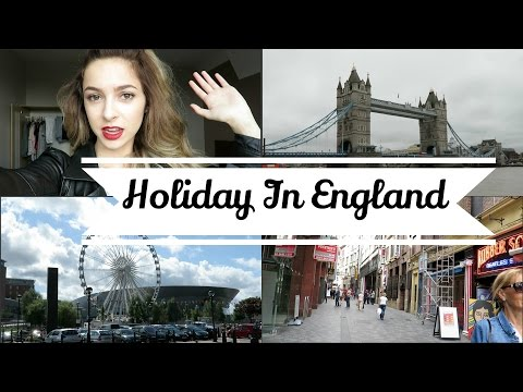 Vlog: Holiday In England | Chelsea Trevor