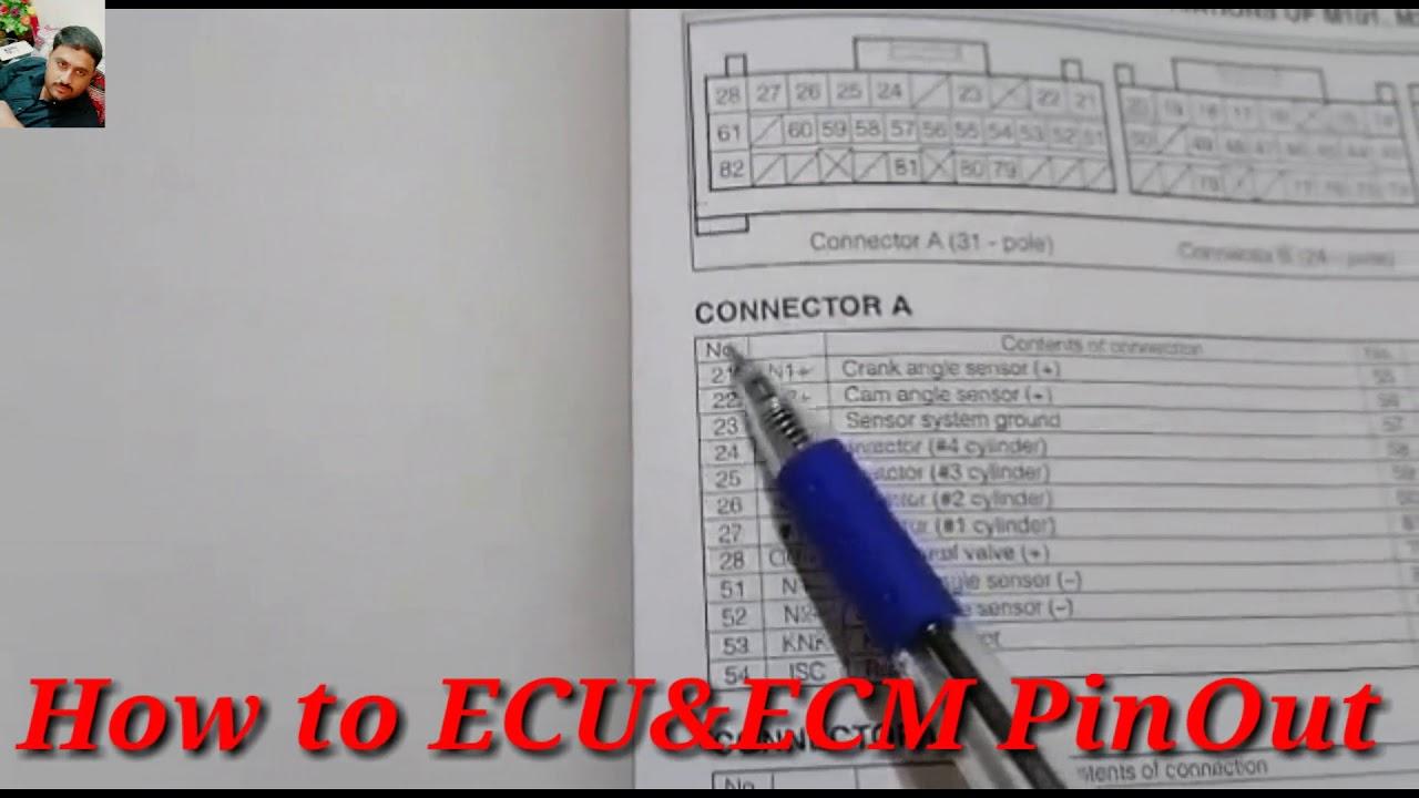 Cars Ecu U0026ecm Pinout Diagram Explain