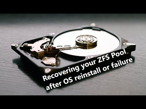 Recovering zfs pool after OS reinstall