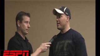 UFC 104: Pat Barry on trying to learn quickly