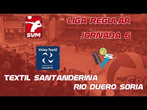 Jornada 6 Liga SVM Textil Santanderina vs Río Duero Soria